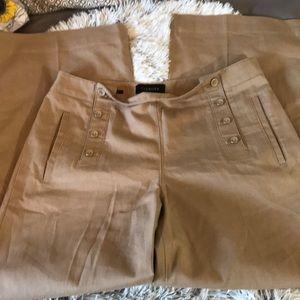 Talbots sailor flared leg pants